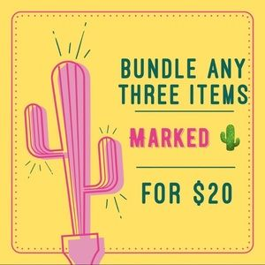 3 Items for $20